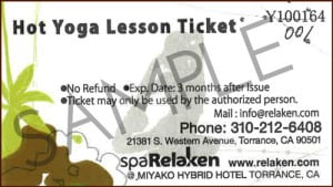 Hot Stone Yoga Tickets