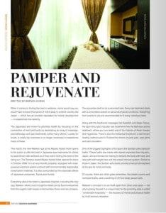 Gan Ban Yoku featured by Long Beach magazine