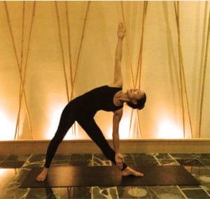 Image of Hot Stone Yoga session