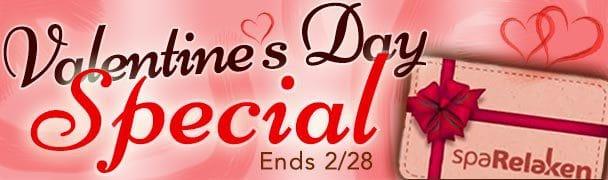 spaRelaken Torrance Valentine's Day Special Thru 2/28