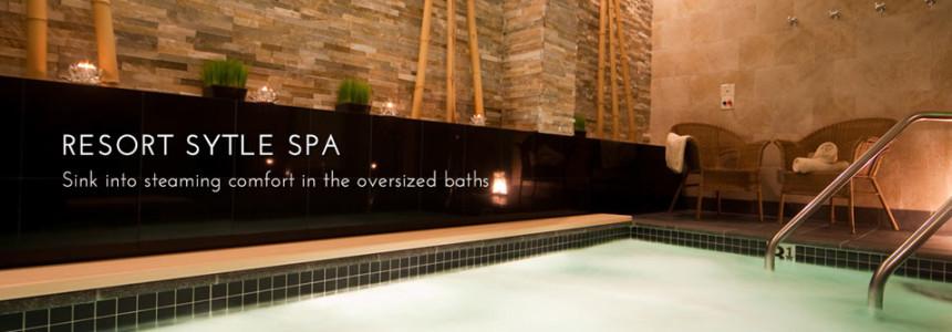 Resort Style Spa