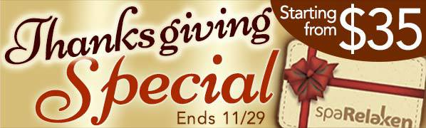Click here to purchase Thanksgiving Special Certificate.