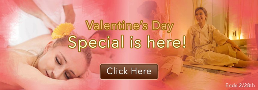 spa Relaken Valentine's Day - Couple Massage $190