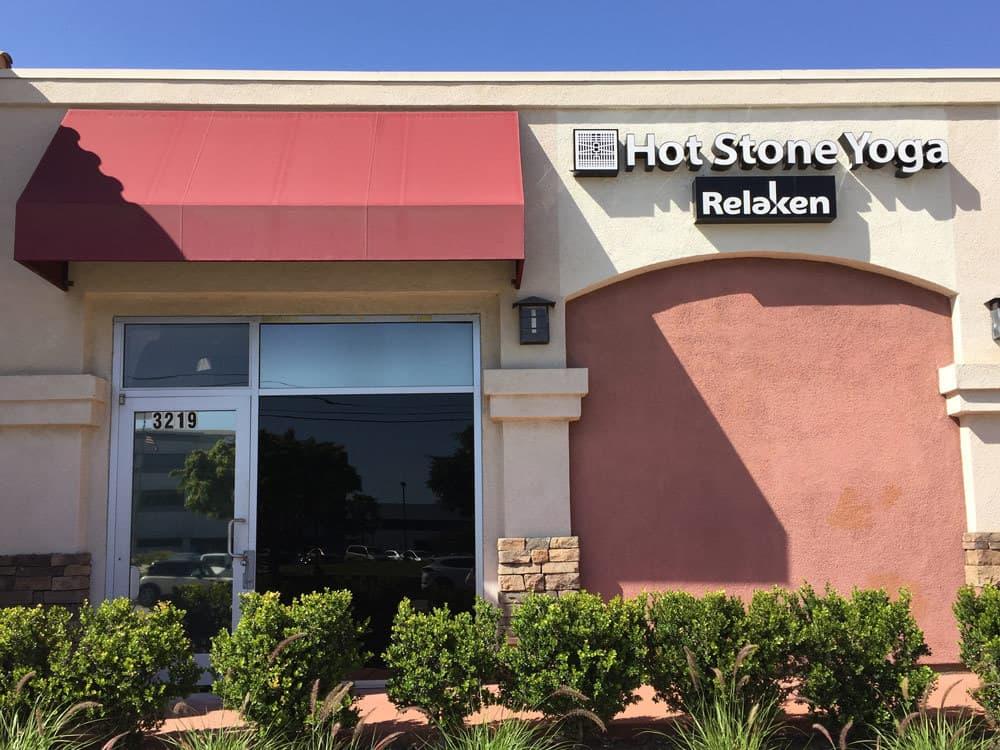 Hot Stone Yoga Studio in Lakewood exterior