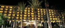 Miyako Hybrid Hotel Night Exterior
