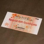 Relaken Gift Certificate