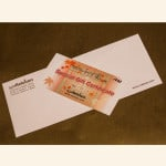 envelope for gift certificate